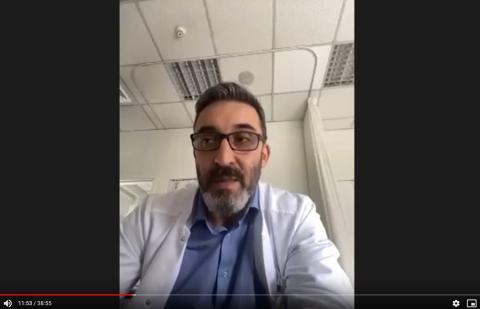 Доц. Давидов в Онлайн доктор на ФБПФ + видео